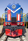 Old diesel locomotive 4 Stock Photos
