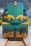 Old diesel locomotive Stock Images