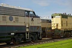 Old Diesel Locomotive Stock Photography