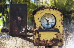 Old diesel pump Royalty Free Stock Images