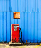 An old Diesel pump, Newark, England. Royalty Free Stock Photo