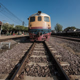 Old diesel train. Stock Photography