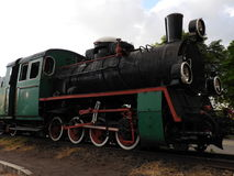 The old diesel train. Old Diesel train , the old railway in the world Stock Photos