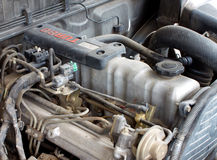 Old diesel turbo engine 3 Royalty Free Stock Photography