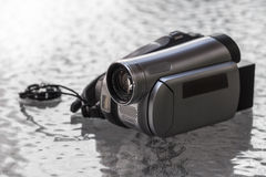 Old digital camcorder Royalty Free Stock Photography