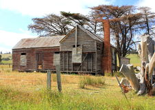 Old and dilapidated Australian country homestead Royalty Free Stock Photography