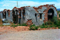Old Dilapidated Brick Shack Royalty Free Stock Images