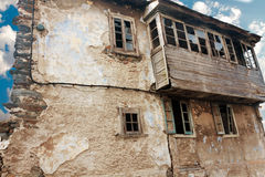Old dilapidated building in Asturias. Spain Royalty Free Stock Photography