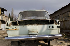Old dilapidated car Stock Photos