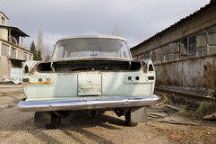 Old dilapidated car Royalty Free Stock Images
