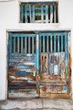 Old dilapidated door. Stock Photography