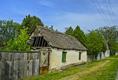Old dilapidated farmhouse Royalty Free Stock Images