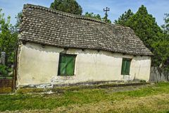 Old dilapidated farmhouse Royalty Free Stock Photos