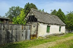 Old dilapidated farmhouse Stock Photos