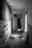Old dilapidated hall Royalty Free Stock Images