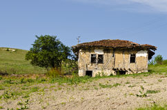 Old dilapidated house Royalty Free Stock Photos