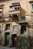 Old dilapidated house in Valletta Stock Images