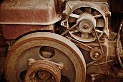 Old dilapidated machinery Royalty Free Stock Image