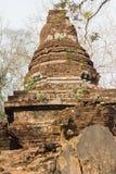 Old dilapidated pagoda. At historical park, Sukhothai, Thailand Royalty Free Stock Photography