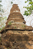 Old dilapidated pagoda. At historical park, Sukhothai, Thailand Royalty Free Stock Image