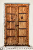 An old dilapidated wooden door Stock Photos