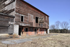 Old dilipidated barn royalty free stock images