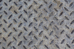 Old dimond metal surface Stock Photography