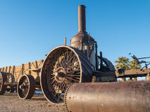 Old Dinah, Steam tractor Stock Photo