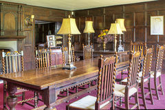 Old dining room Royalty Free Stock Photo