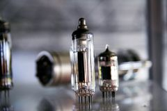 Old diodes Royalty Free Stock Image