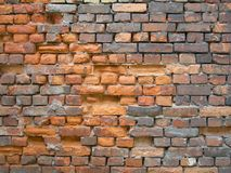 Old, dirt brick wall texture Stock Image