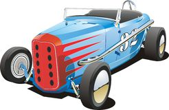 Old dirt track race car Stock Image