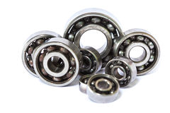 Old and dirty ball bearing Stock Photos