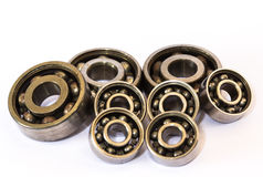 Old and dirty ball bearing Royalty Free Stock Photo
