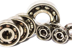 Old and dirty ball bearing Royalty Free Stock Photos