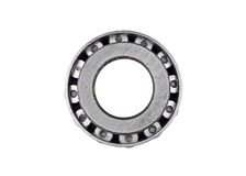 Old and dirty ball bearings. Old and dirty ball bearing, isolated on white background Royalty Free Stock Photos