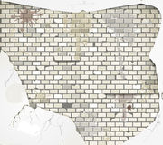 Old dirty brick wall Royalty Free Stock Image