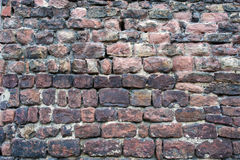 Old dirty brick wall background royalty free stock photography