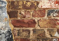 Old dirty brick wall background Stock Photography