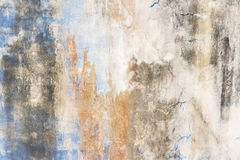 Old dirty and broken cement wall or grunge wall surface texture Stock Photo