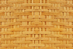 Old dirty brown bamboo weave background from handmade crafts. Basket Stock Images