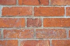 Old dirty brown brick wall Royalty Free Stock Photos