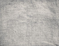 Old dirty brown horizontal creasy burlap texture Royalty Free Stock Images
