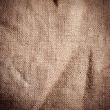 Old dirty burlap texture Stock Photo