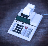 Old dirty calculator Stock Images