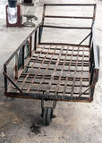 Old dirty cart Stock Images