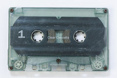 Old Dirty Cassete Tape Stock Photo