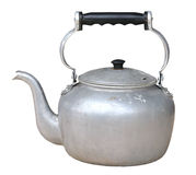 Old dirty classic kettle Stock Image