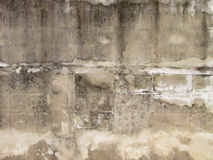 Old dirty concrete wall background. Old dirty concrete wall texture background Royalty Free Stock Photography