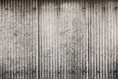 Old and dirty Corrugated metal texture surface Stock Images
